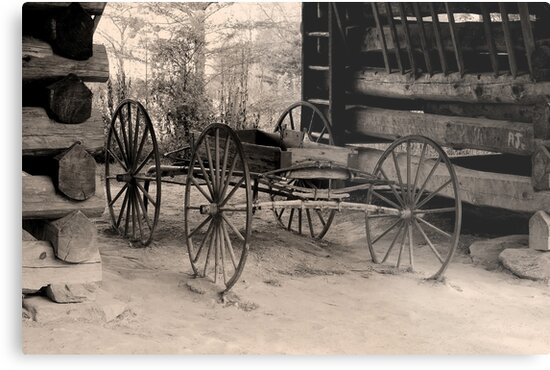 Wagon Of Old by Gary L   Suddath