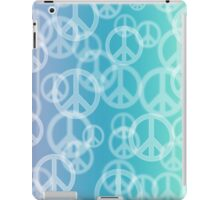 Peace Bokeh Print iPad Case/Skin