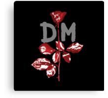 Depeche Mode : Violator DM Paint Grey Canvas Print
