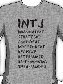 INTJ (Black letters) T-Shirt