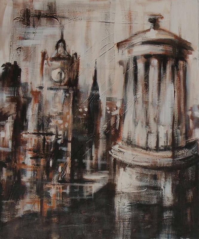 Calton Hill by Nicola  Cairns
