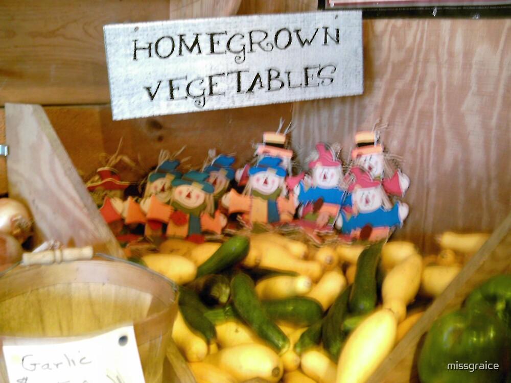Home grown vegetables by missgraice