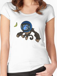 Monkey In Space Women's Fitted Scoop T-Shirt