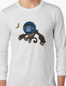 Monkey In Space Long Sleeve T-Shirt