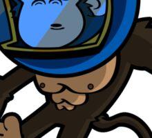 Monkey In Space Sticker