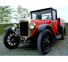 Love at first sight......1927 Austin Pickup  Photographic Print