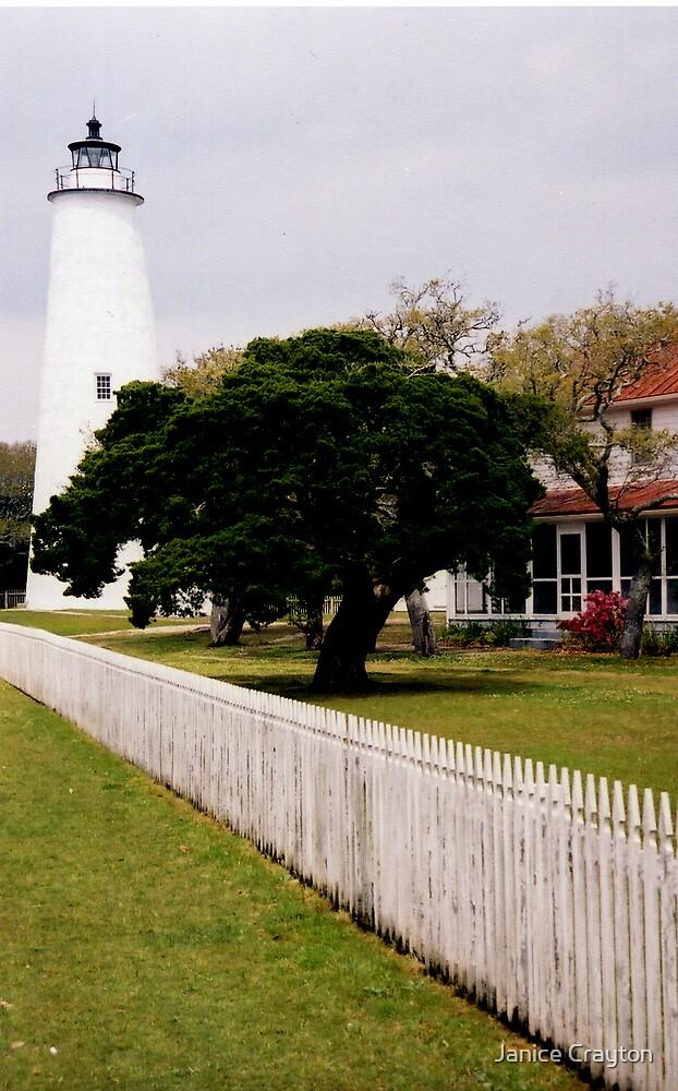 Ocracoke Lighthouse by Janice Crayton