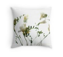 The Whites Throw Pillow