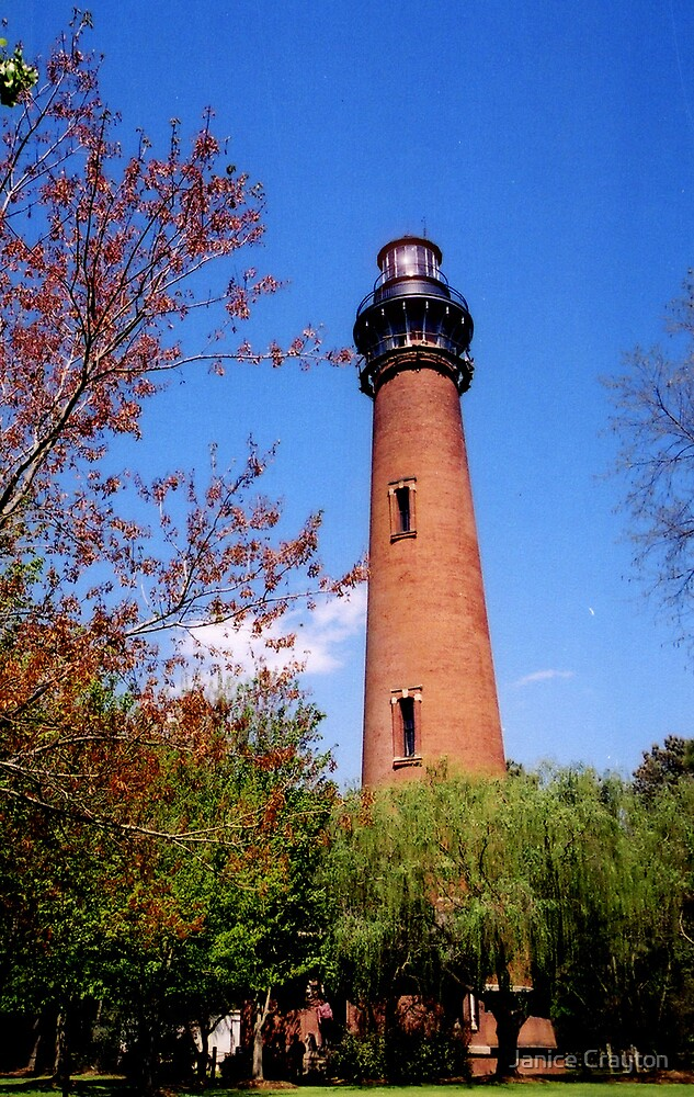 Currituck Lighthouse VA by Janice Crayton