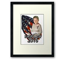 Bill for First Lady 2016 Framed Print
