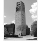 University of Michigan Clock Tower 2 by Phil Perkins