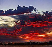 Sunrise Thunderstorm by EOS20