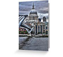 St Paul's : art render Greeting Card
