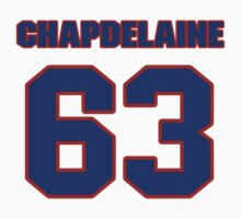 National Hockey player Rene Chapdelaine jersey 63 by imsport