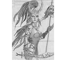 warrior woman Photographic Print