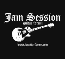 Jam Session Guitar 3 Dark TShirt by Scot Kroeker by DLKeur