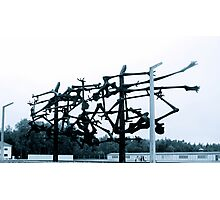 Dachau Concentration Camp Memorial Photographic Print