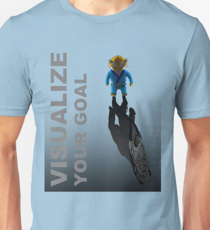 Visualize your goal Martial Arts T-shirt Mens Womens Boys Girls Unisex T-Shirt