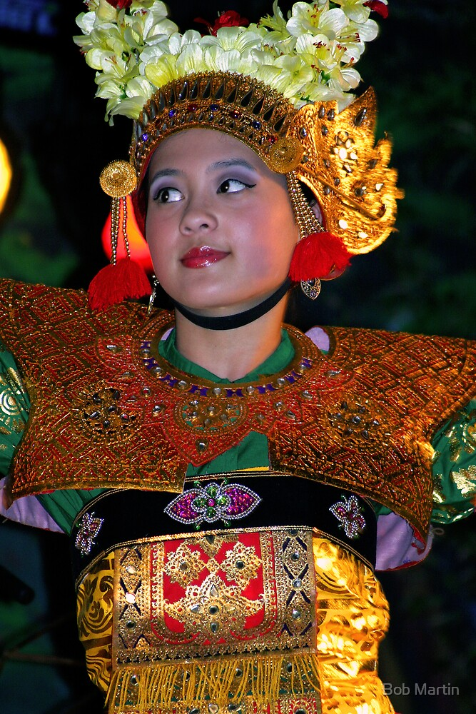 Indonesian Dancer by Bob Martin