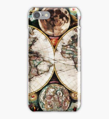 Atlas Maritimus iPhone Case/Skin