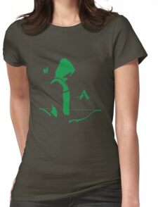 Arrow in the Dark Womens Fitted T-Shirt