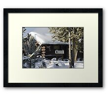 Down Time in Yellowstone Framed Print