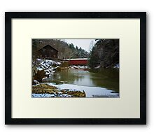 McConnell's Mill (Mid November 2014) Framed Print