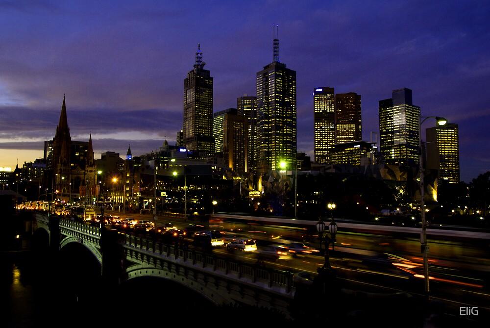 Urban Nights by EliG