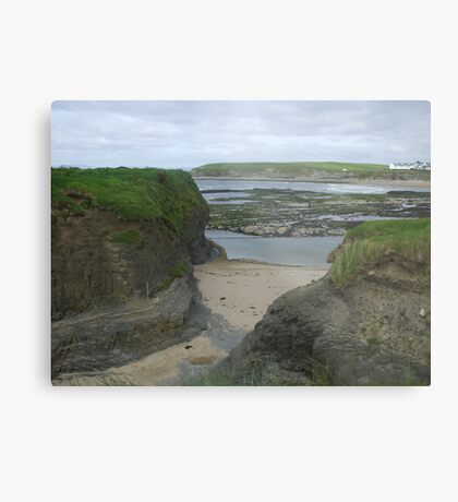 Bundoran Strand, County Donegal Metal Print