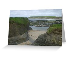 Bundoran Strand, County Donegal Greeting Card