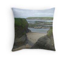 Bundoran Strand, County Donegal Throw Pillow