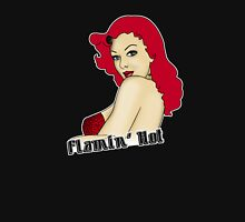 Flamin' Hot Rockabilly Pin Up Unisex T-Shirt