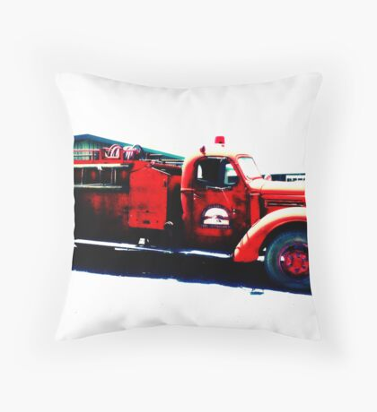 Lost truck # 01 Throw Pillow