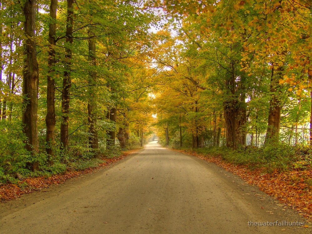 Back Road in Vermont by thewaterfallhunter