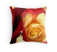 Rosey Outlook Throw Pillow