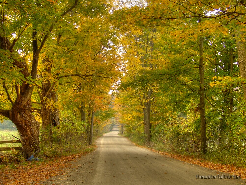 Back Road in Vermont Too by thewaterfallhunter