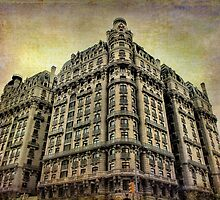 Ansonia Building & Textures by andymars