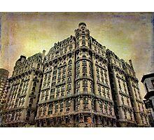 Ansonia Building & Textures Photographic Print