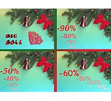 Holiday discount , big sale Photographic Print
