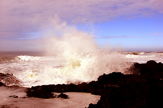 Crashing Waves by Trace Lowe