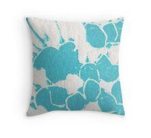 Willow pattern plate detail. Throw Pillow