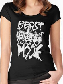 BEAST MODE!!! Women's Fitted Scoop T-Shirt