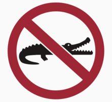 No crocodiles Baby Tee