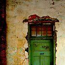 Green Door by LOREDANA CRUPI