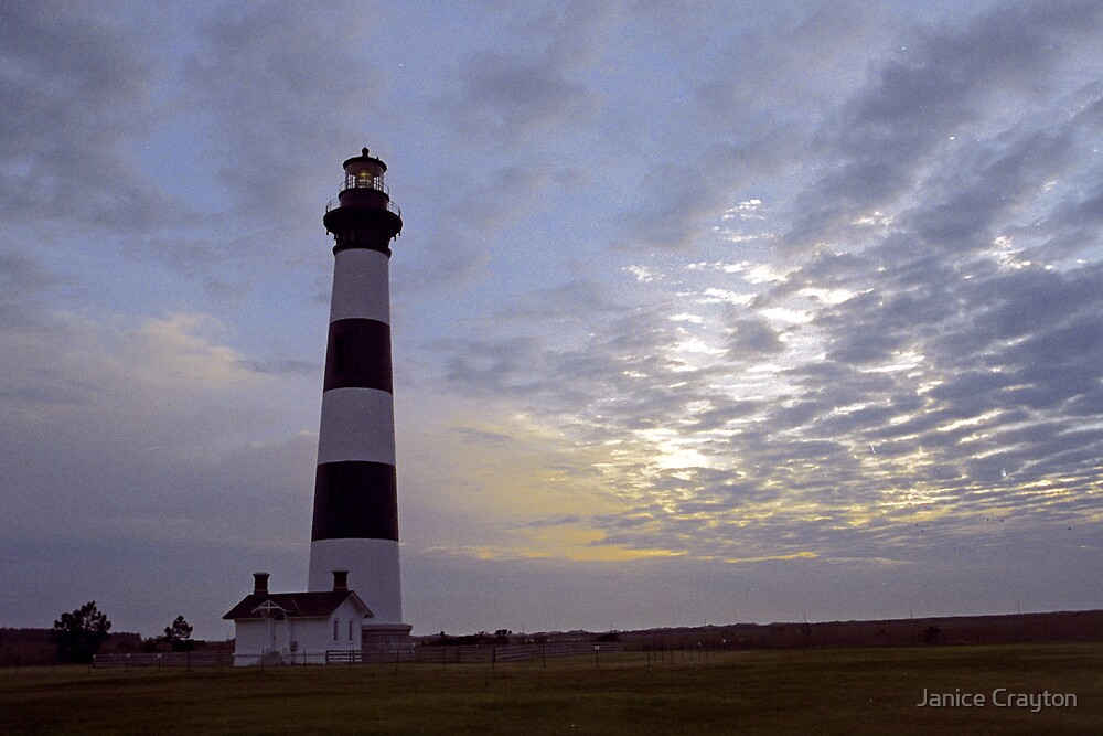 Bodie Lighthouse NC by Janice Crayton