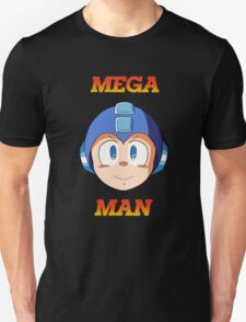 Mega Man Head Unisex T-Shirt