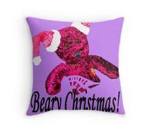 Beary Christmas! Throw Pillow