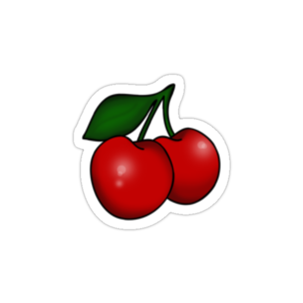Kitsch Retro Cherries by Helen McLean