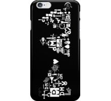 Depeche Mode : DM Logo 2013 - With old logo 1 - White iPhone Case/Skin