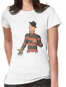 Freddy Bad Teeth Womens Fitted T-Shirt